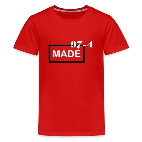 Design made in 974 - T-shirt Premium Ado