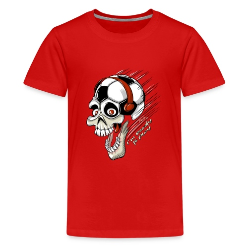 FOOTBALL FREAK Game Textiles, Gifts, Products - Teinien premium t-paita