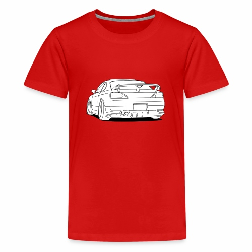 cool car white - Teenage Premium T-Shirt