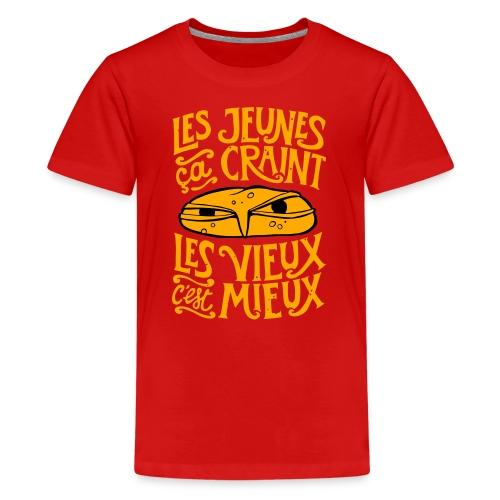 les jeunes ça craint - T-shirt Premium Ado