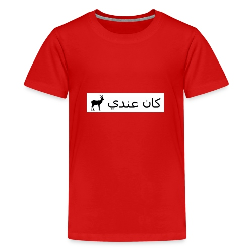 Kan 3endi ghasal - T-shirt Premium Ado