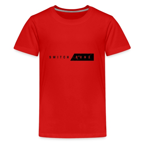 Switchbone_black - Teenager Premium T-shirt