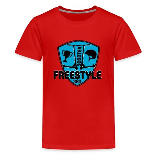 blason scooter freestyle 360 - T-shirt Premium Ado