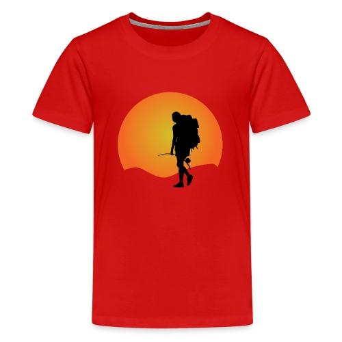 Capoeira me venceu - Teenage Premium T-Shirt