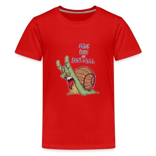 ROCK SNAIL - Koszulka młodzieżowa Premium