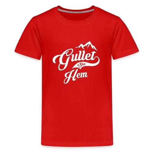 Gullet Ska Hem - Premium T-skjorte for tenåringer