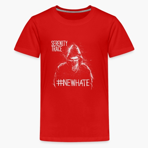#NewHate Male - Premium T-skjorte for tenåringer