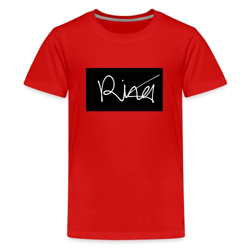 Autogramm - Teenager Premium T-Shirt