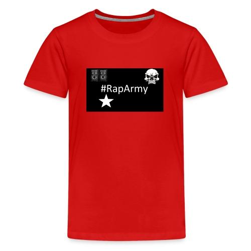 RapArmy Logo - Teenager Premium T-Shirt