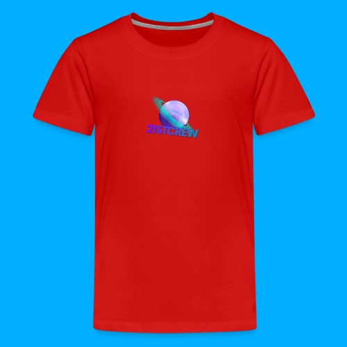PurpleSaturn T-Shirt Design - Teenage Premium T-Shirt