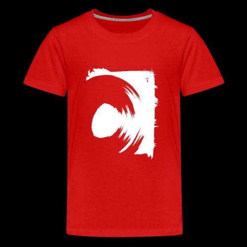 spin (white) - Teenager Premium T-Shirt