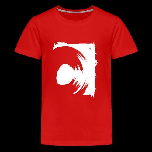 wirowania (biały) - Koszulka młodzieżowa Premium