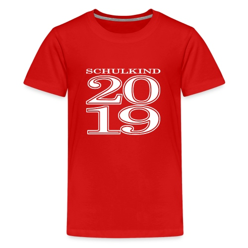 Schulkind 2019 - Teenager Premium T-Shirt