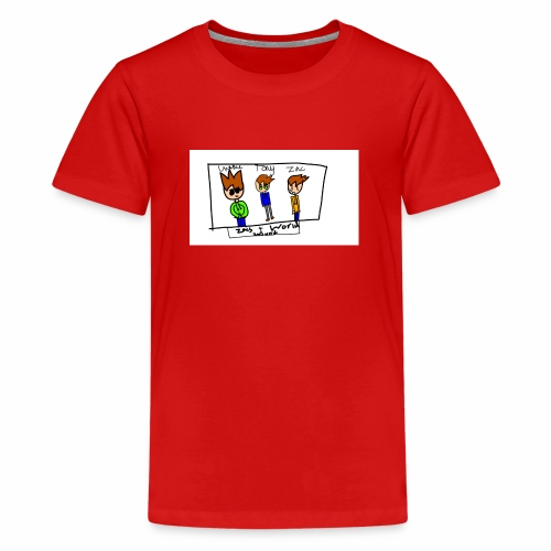 ZacsWorld - Teenage Premium T-Shirt