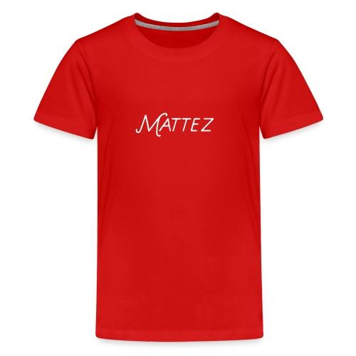 Nyt motiv ny shop:) - Premium-T-shirt tonåring