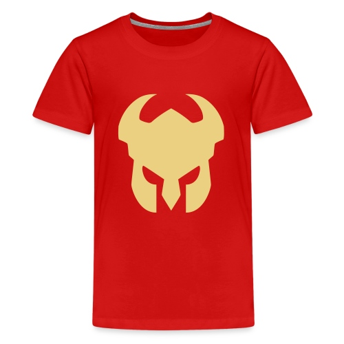 CFH Hjelm - Premium T-skjorte for tenåringer