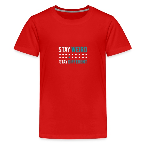 stay different - Teenager Premium T-Shirt