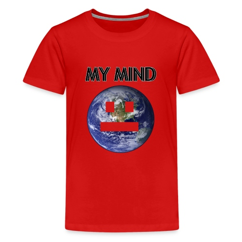 MY MIND - Premium-T-shirt tonåring