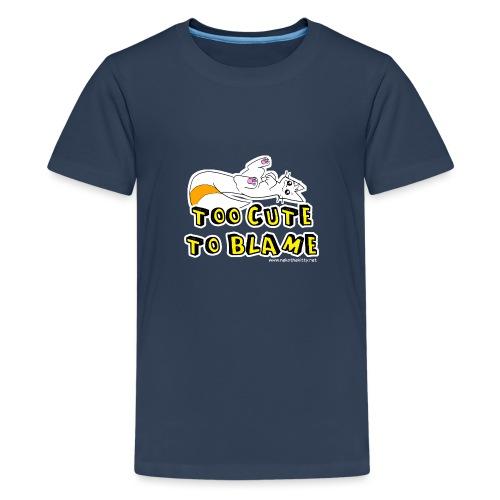 Too Cute To Blame - Teenage Premium T-Shirt