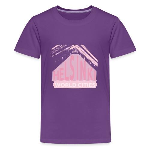 Helsinki light pink - Teenage Premium T-Shirt