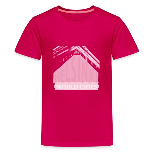 Helsinki light pink - Teenage Premium T-Shirt