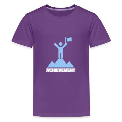 Achievement typo - Teenage Premium T-Shirt