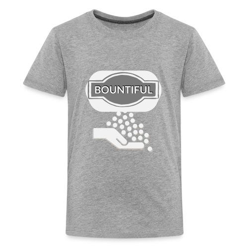 Bontiul gray white - Teenage Premium T-Shirt