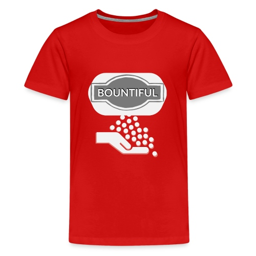 Bontiul gray white - Teenage Premium T-Shirt
