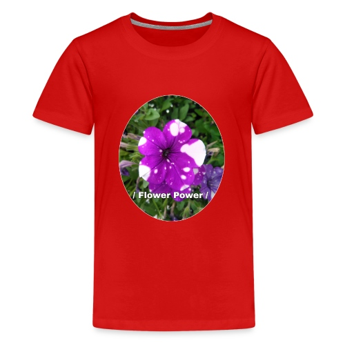 Flower Power 2 - Teenager Premium T-Shirt