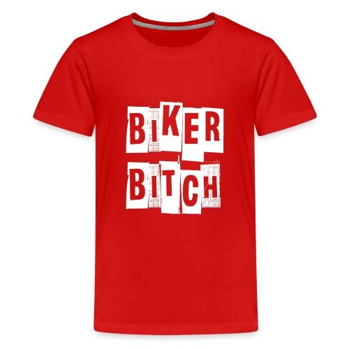 biker - Teenage Premium T-Shirt
