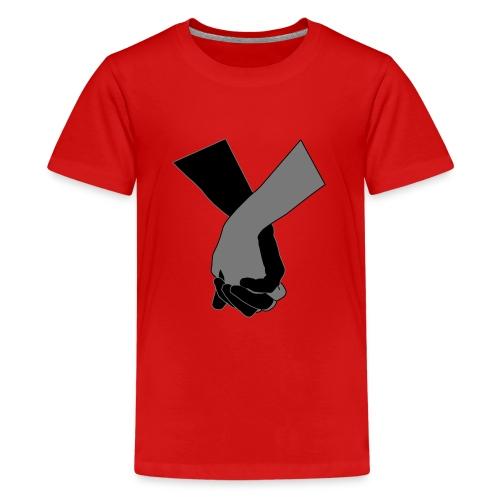 Holding Hands - Teenager Premium T-Shirt