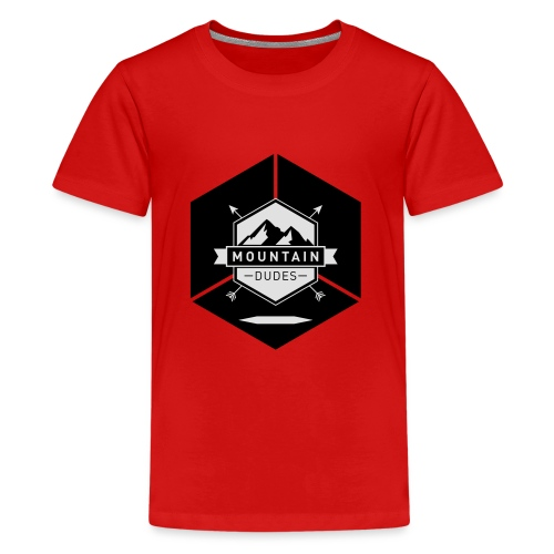 Mountain Dudes - Teenager Premium T-Shirt