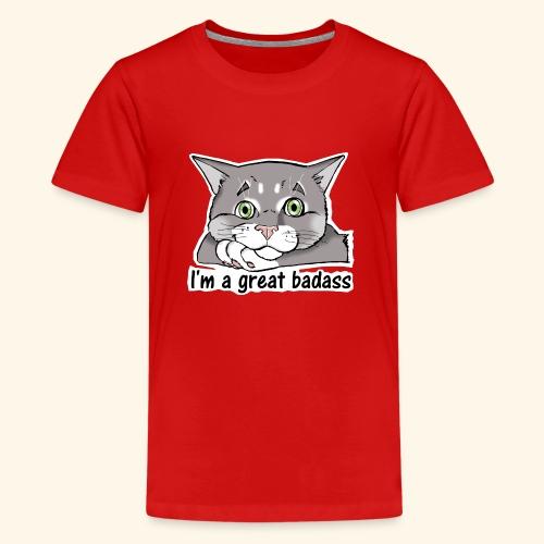 Nice Dogs CATS - Maglietta Premium per ragazzi