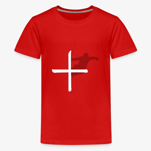 Ski Switzerland - Teenage Premium T-Shirt