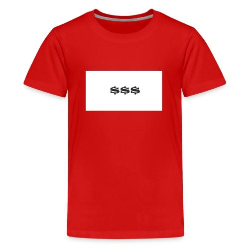 DOLLA DOLLA - Teenager Premium T-Shirt