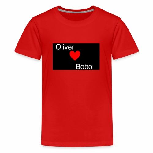 Oliver love Bobo - Premium-T-shirt tonåring