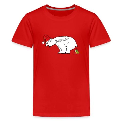 (Sch) Eisbär - Teenager Premium T-Shirt