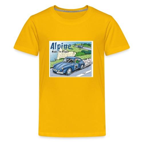 Polete en Alpine 106 - T-shirt Premium Ado