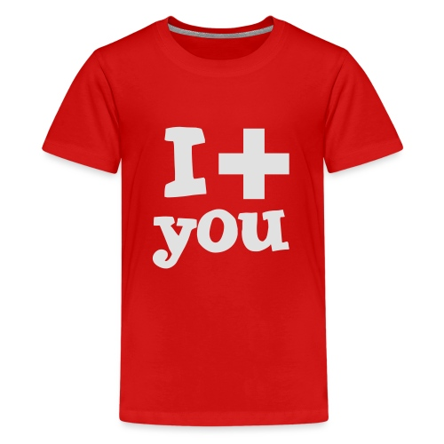 i love you - Teenager Premium T-Shirt