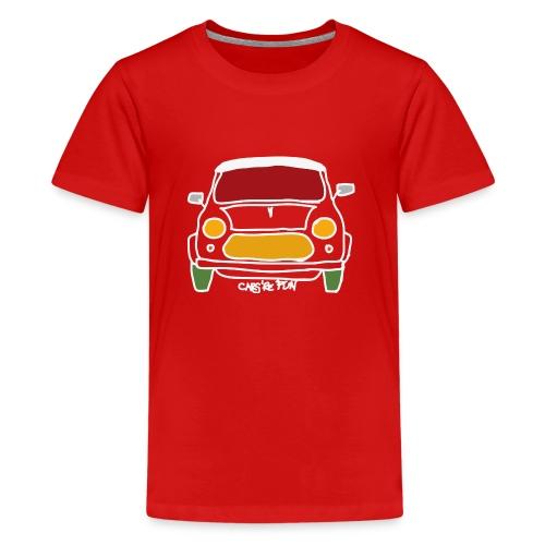 Voiture ancienne anglaise - T-shirt Premium Ado