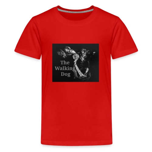 The Walking Dog - Teenager Premium T-Shirt