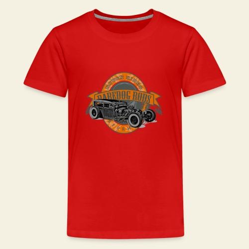 Raredog Rods Logo - Teenager premium T-shirt