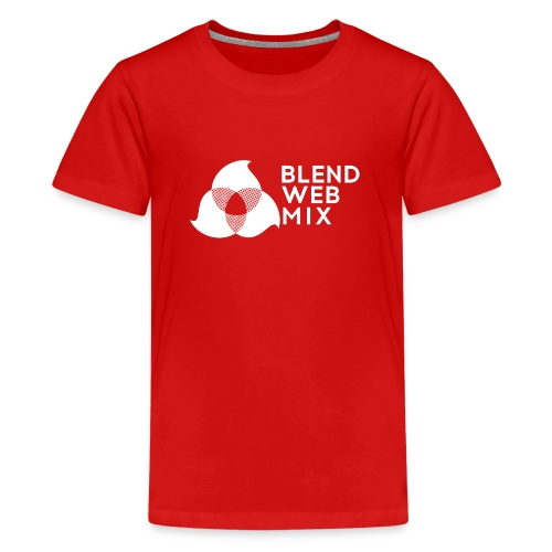 logo bland - T-shirt Premium Ado