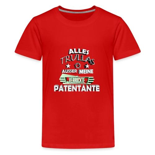 trullas patentante 3d - Teenager Premium T-Shirt