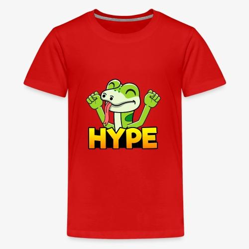 Ödlan - Premium-T-shirt tonåring
