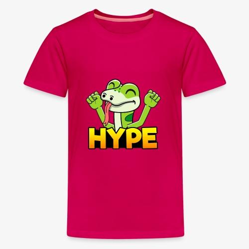Ödlan Hype - Premium-T-shirt tonåring