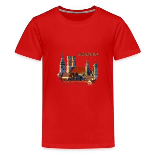 München Frauenkirche - Teenager Premium T-Shirt