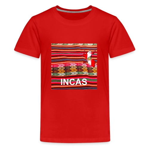 Telar inca Mapa del Peru - T-shirt Premium Ado