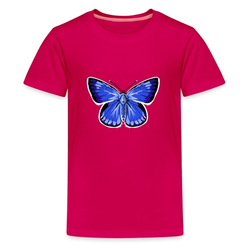vlinder2_d - Teenager Premium T-shirt