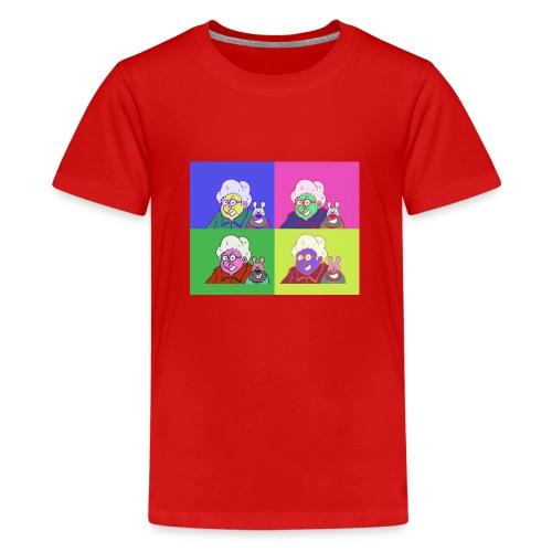 Polete facon warhol - T-shirt Premium Ado